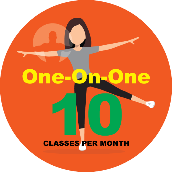 1 on 1 personal training 10 pack